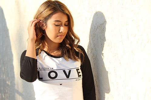 Falling In Love Again - Raglan Tee
