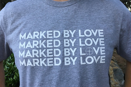 Marked By Love - Mens Tee