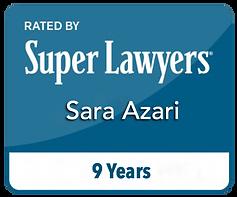 Sara Azari SuperLawyers Attorney
