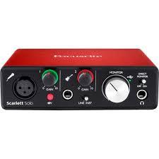 Focusrite Scarlett Solo (3rd Gen) Audio Interface