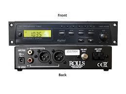 Rolls HR78X AM/FM Digital Tuner with XLR outputs