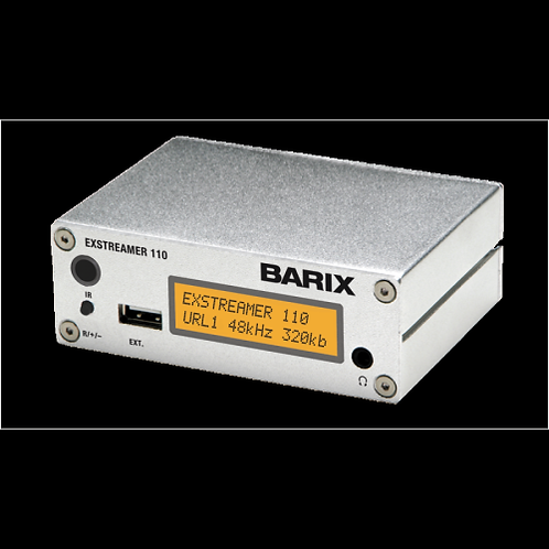 Barix Exstreamer 110 VoIP Audio Decoder w Display