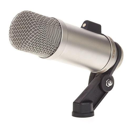 RODE Broadcaster large diaphragm, end-address condenser microphone