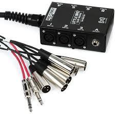 HOSA Little Bro' Sub Snake 6 x XLR Sends and 2 x 1/4 in TRS Returns