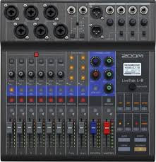 Zoom Livetrak Mixer/Recorder for Podcasting, Music and Beyond
