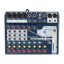 Soundcraft Notepad-12FX Small-format Analog Mixing Console with USB I/O and Lexi