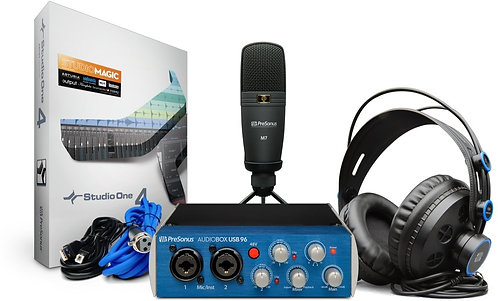 Presonus AudioBox96 Studio: Complete Hardware/Software Recording Package