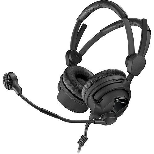 Sennheiser HMD 26-II Professional Broadcast Headset: dynamic microphone