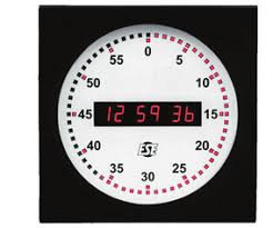 ESE LX-5212U Combo Analog & Digital Clock