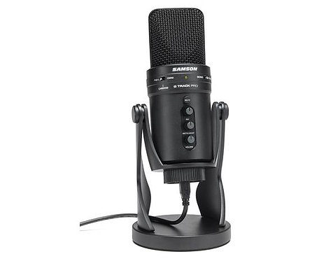 Samson G-Track Pro - Professional USB Microphone with Audio Interface