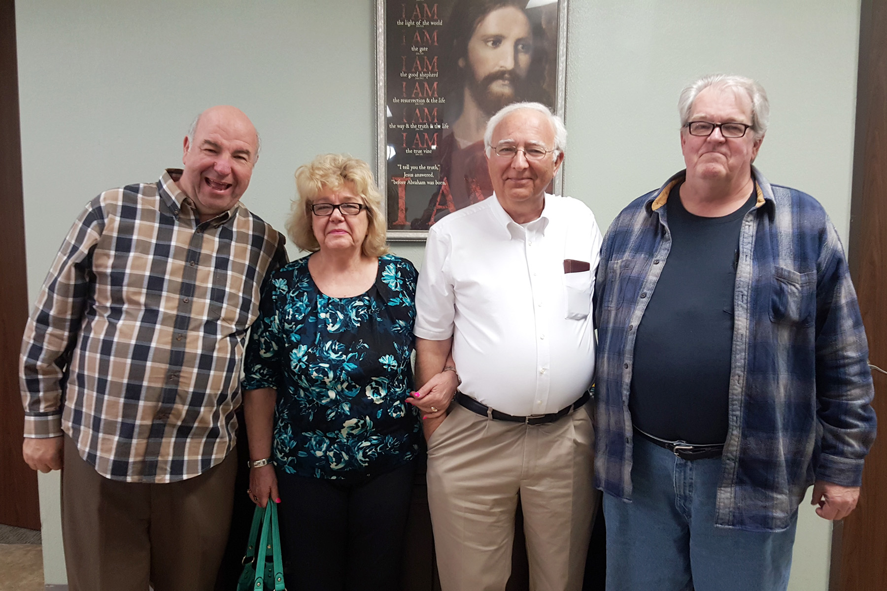 Pastor, Nancy, Tom, and Douglas