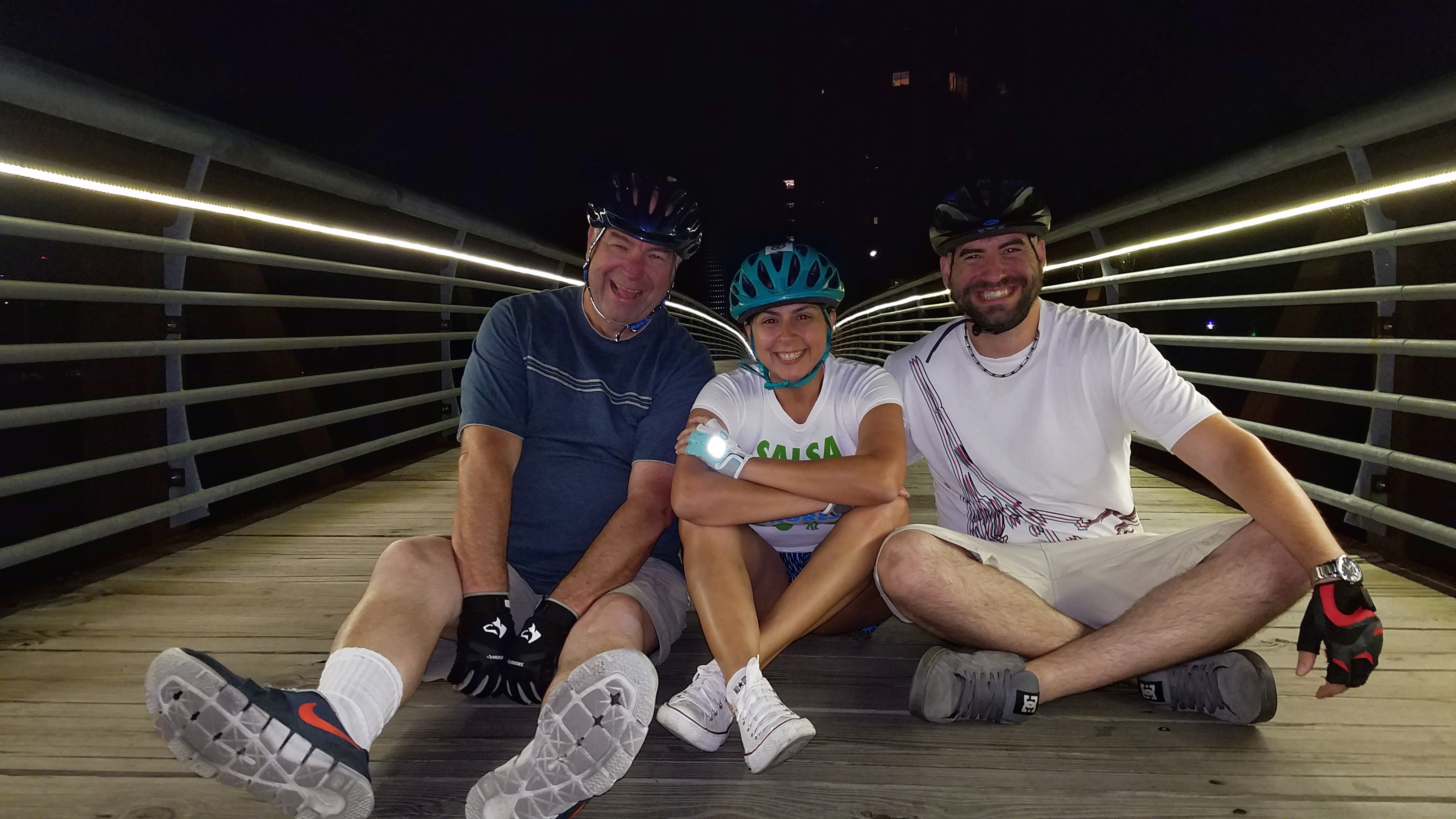 Daniel, Carolyn and Howard #2 = BIke Ride = 05-08-2017
