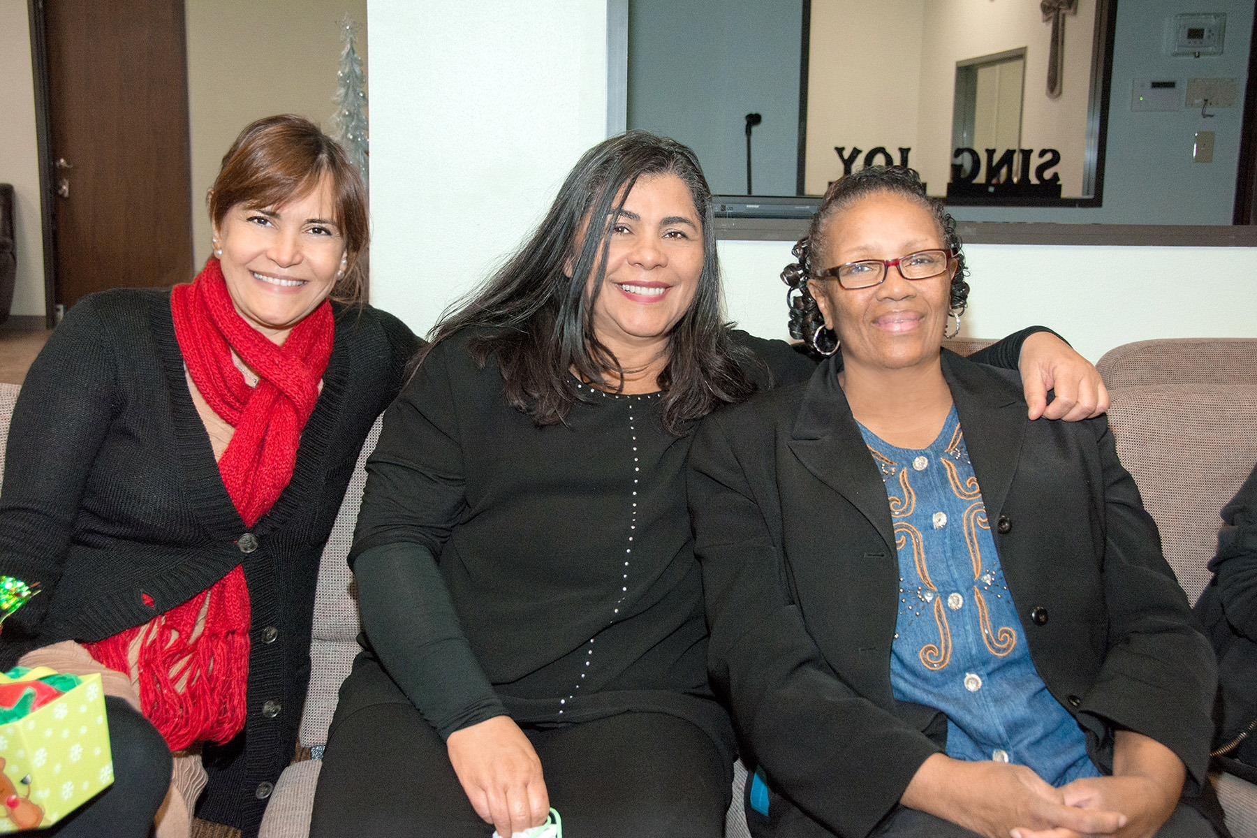 Sandra, Sandra, and Fabiola