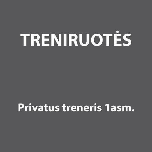 4 privačių treniruočių narystė