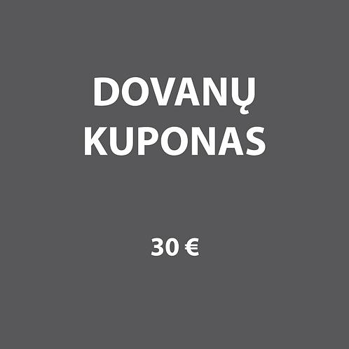 Dovanų kuponas 30€