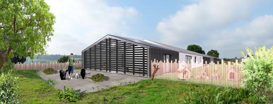 Rénovation bâtiment agricole en habitation