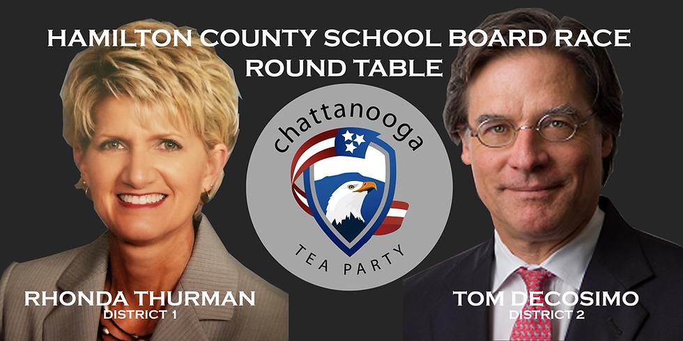 Virtual Round Table for Hamilton County School Board Race