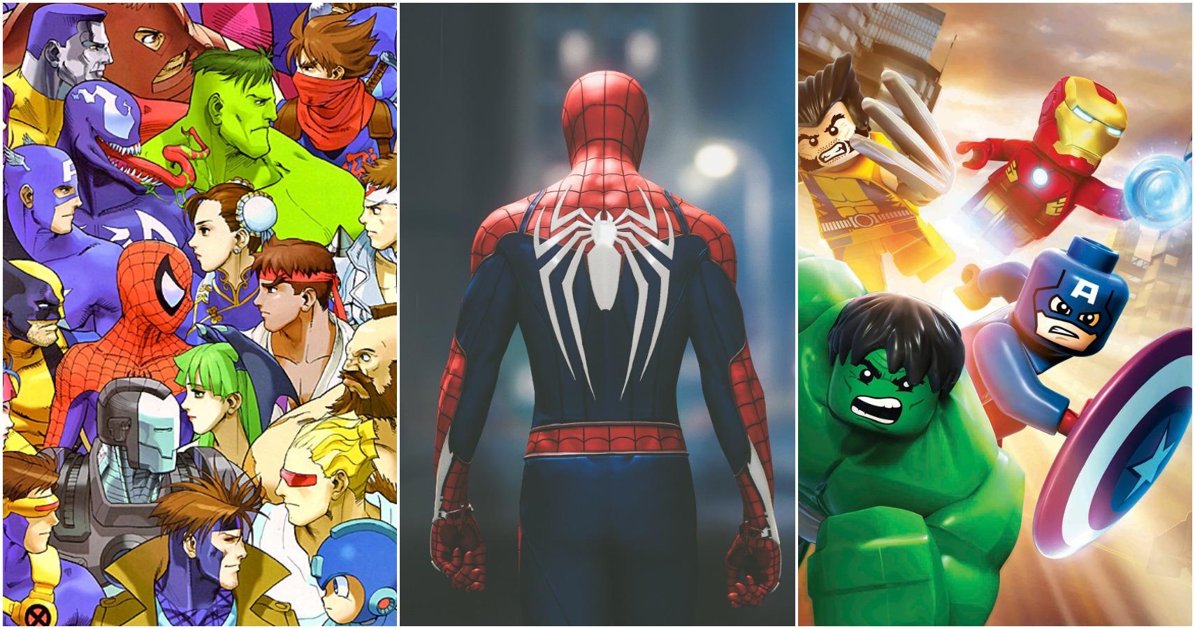 10 Best Marvel Games, Ranked (According