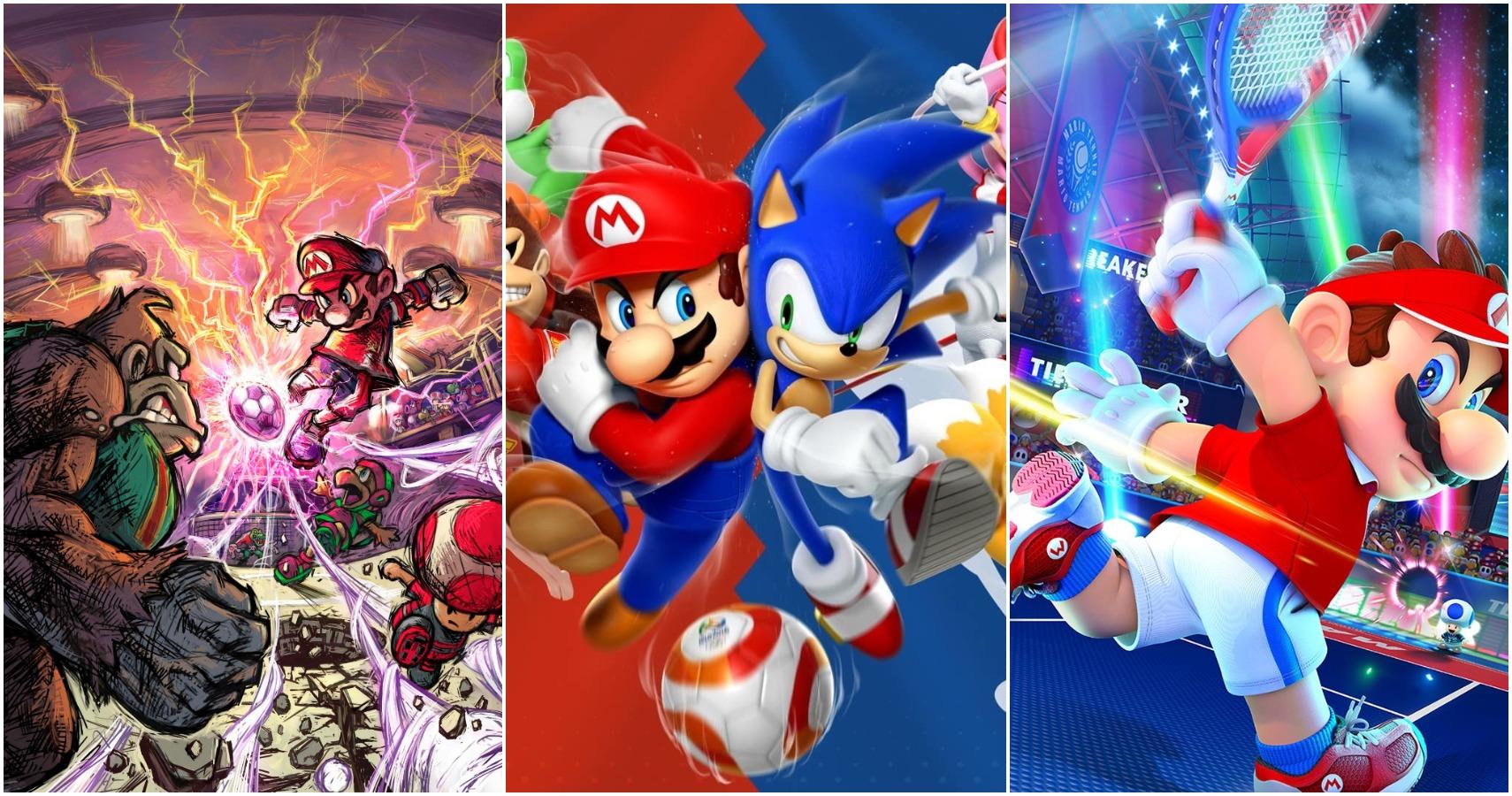 10 Best Super Mario Sport Games, Ranked (According To Metacritic)