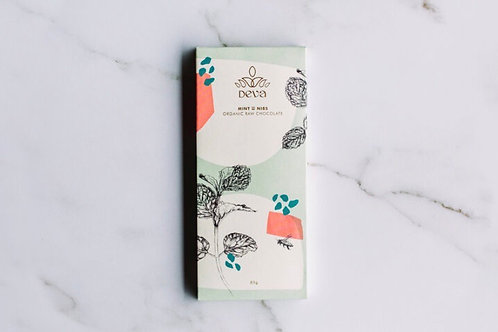 Deva Chocolate Mint with Nibs 85g