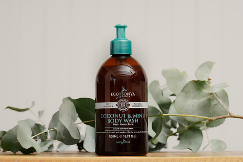 Eco by Sonya Driver Coconut & Mint Body Wash 500ml