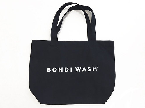 Bondi Wash Canvas Tote Bag Black