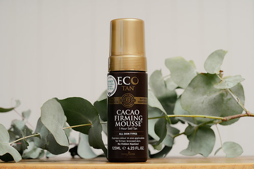Eco Tan Cacao Firming Mousse - Dark - 125ml
