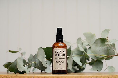 Ivy & Wood Relax Blend Room Spray 100ml