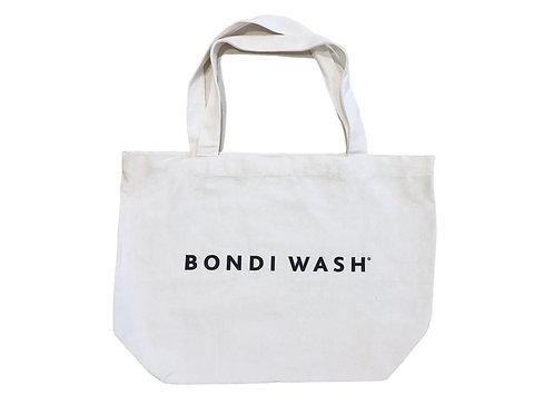 Bondi Wash Canvas Tote Bag White