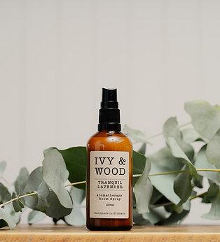 Ivy & Wood Tranquil Lavender Room Spray 100ml