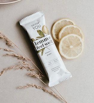 Eat For You Lemon & Ginger Raw Wholefood Bar 50g
