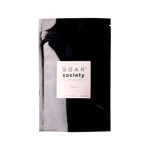 Soak Society Wellness Soak - Rose 100g