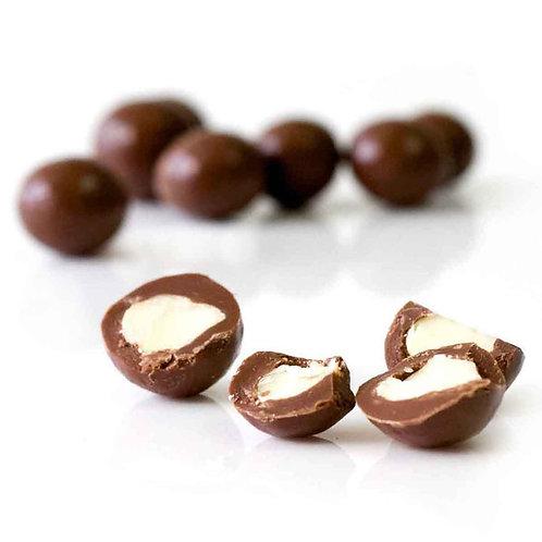 Organic Times Milk Chocolate Coated Macadamia Nuts 150g