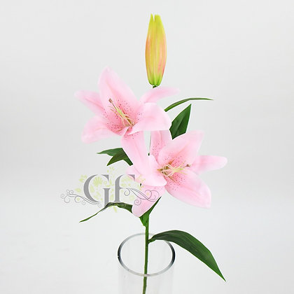 83cm Real Touch Oriental Lily  GF60303 - Lt. Pink