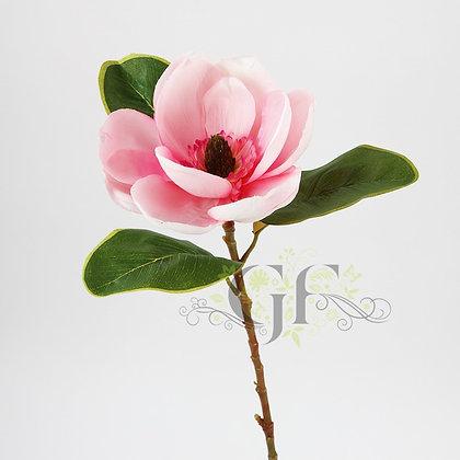 72cm Satin Magnolia Stem GF60160 - Pink