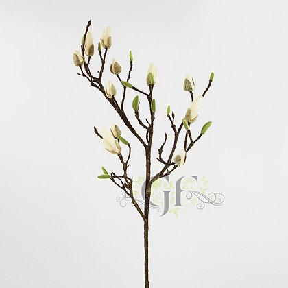 116cm Magnolia Bud Spray GF60306