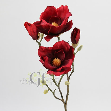 75cm Magnolia Branch  GF60405 - Red