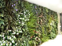 Lush Garden Wall in office