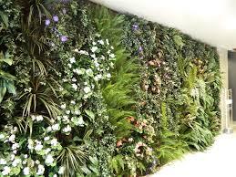 Lush Garden Wall in office