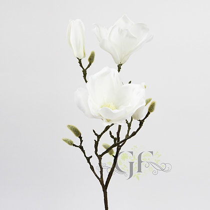 75cm Magnolia Branch  GF60405 - Cream