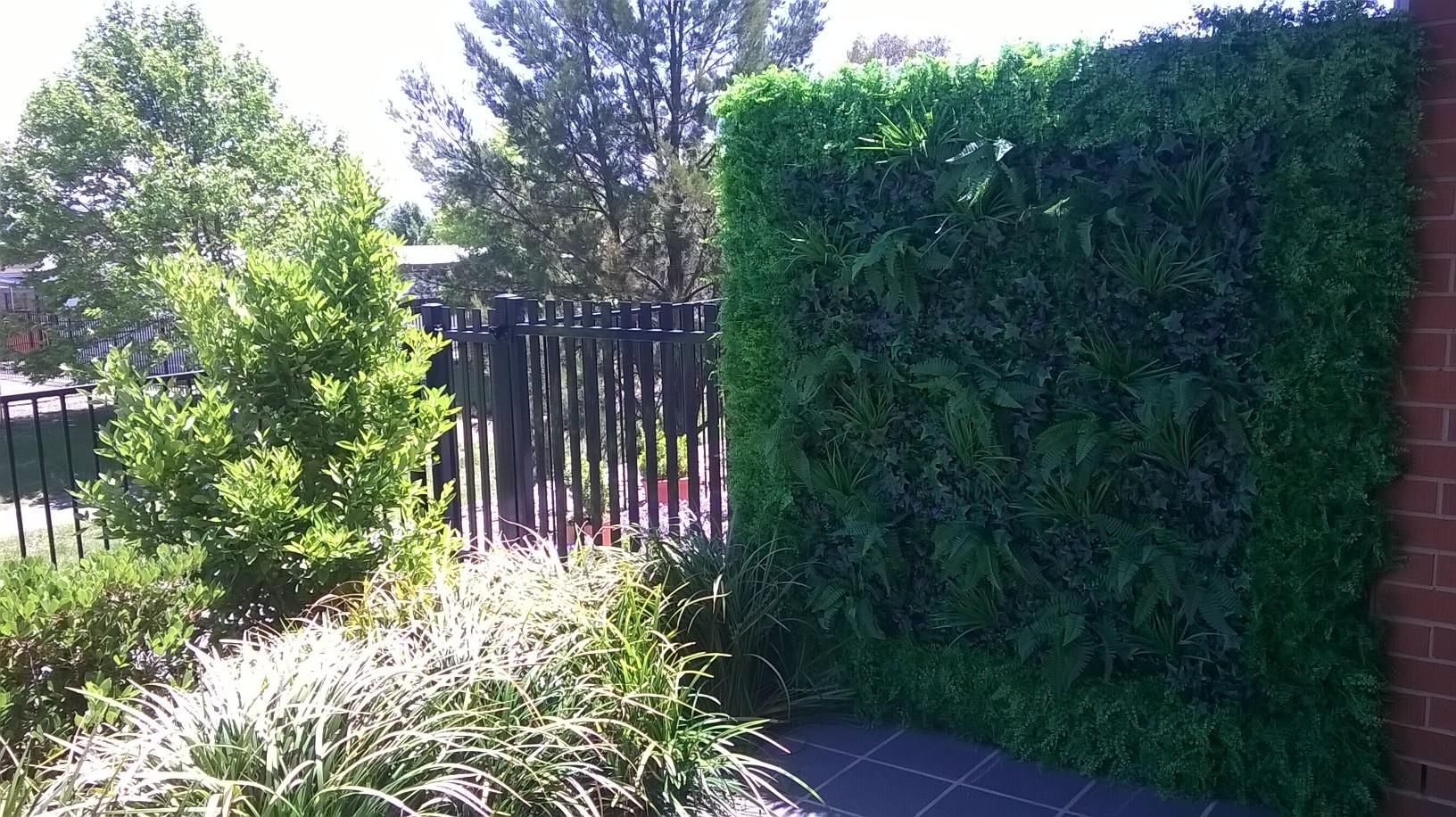 Green Tropics/Fern Wall