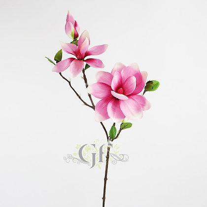 83cm Magnolia Spray x 5 GF60296 - Pink
