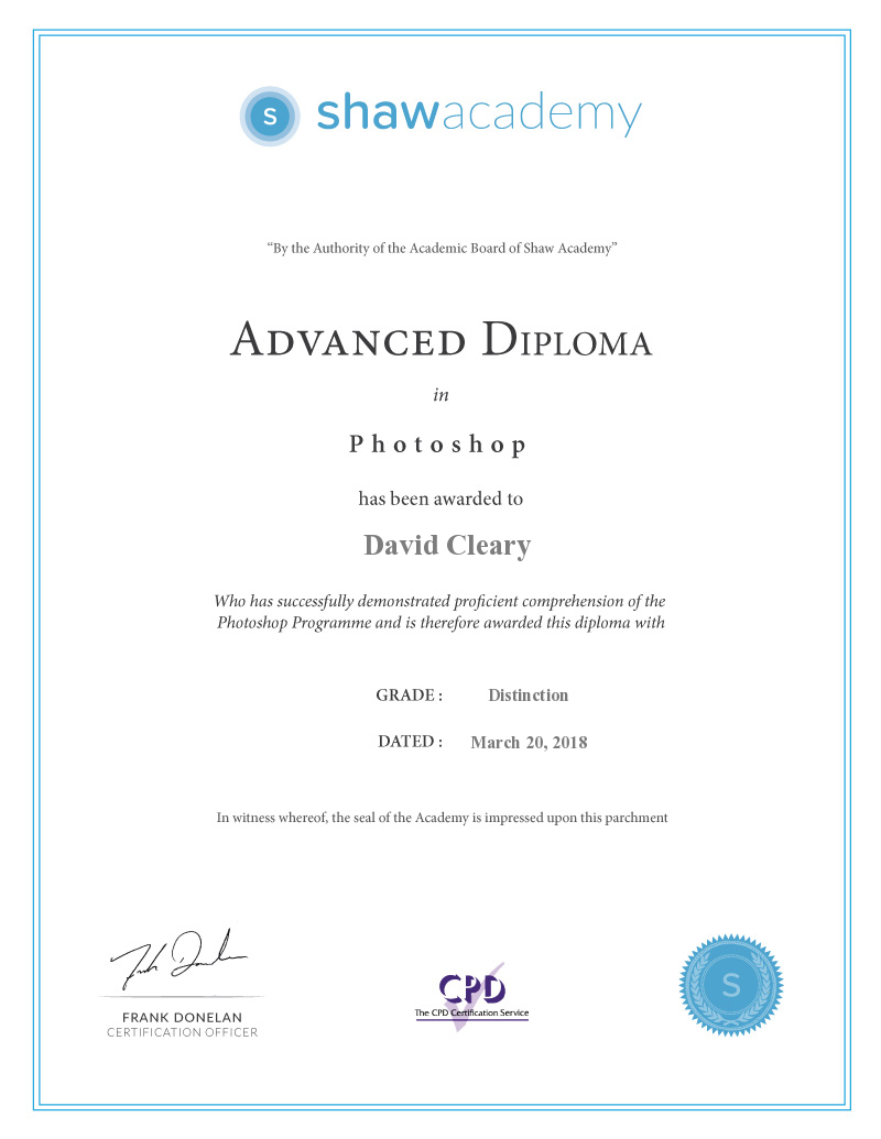 Advanced Photoshop Diploma