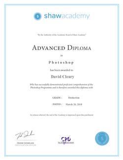 Advanced Photoshop Diploma