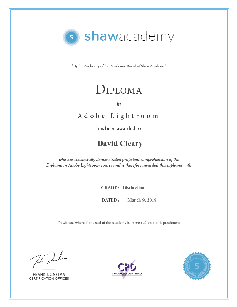 Lightroom Diploma