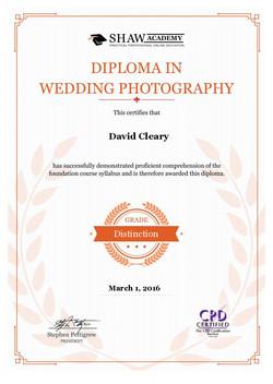 Wedding Photography Diploma