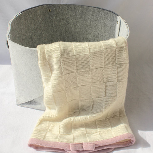 Quilted Cashmere Baby Blankets