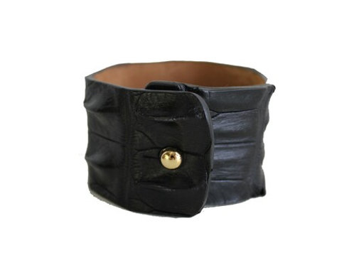 The Dakota Crocodile Cuff