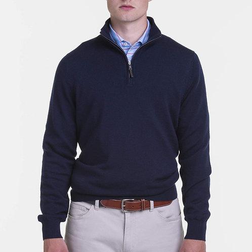 Baruffa Merino 1/4 Zip Windsweater
