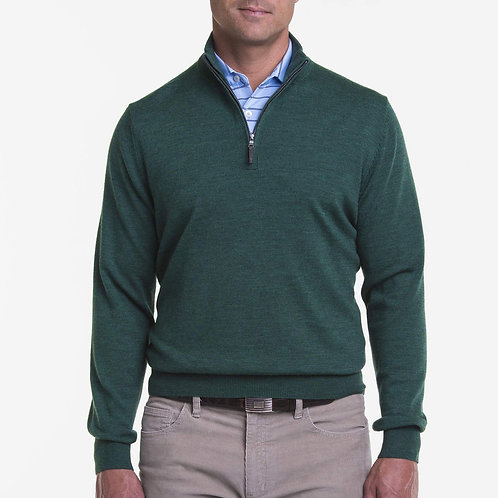 Baruffa Merino 1/4 Zip Sweater